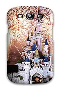 Fashion Tpu Case For Galaxy S3- Disneyland Paris Fireworks Defender Case Cover