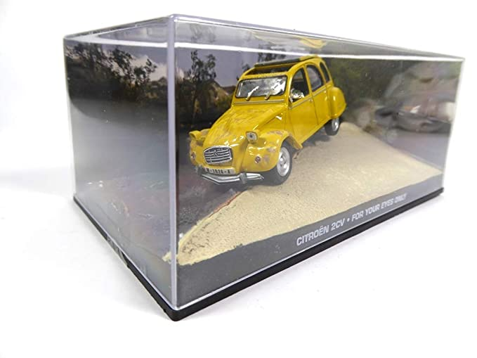 "Universal hobbies 007 Collection citroen 2cv /""for Your Eyes Only/"" 1:43!!!"