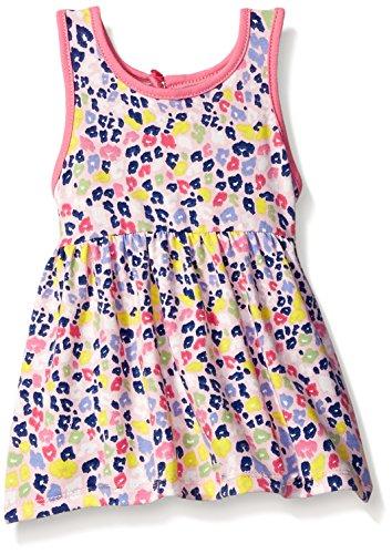 [Marmellata Baby Rainbow Animal Print Knit Dress, Multi, 6-9 Months] (Baby Animal Dresses)
