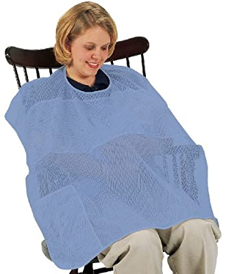 Leachco Covered N Cool Breast feeding Cover, Periwinkle by Leachco