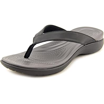 cf091805f Image Unavailable. Image not available for. Color  Crocs Women s Capri V  Teal Flip Flop