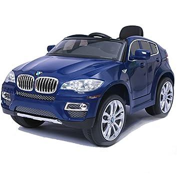 SIMRON-BMW X6 SUV Elektro Kinderauto Kinderfahrzeug Ride-On 12V ...