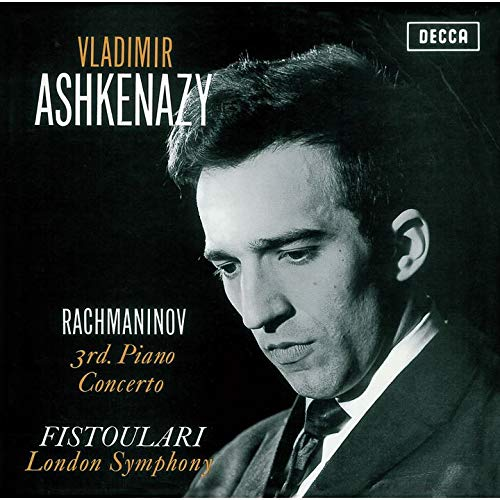 SACD : ASHKENAZY,VLADIMIR - Rachmaninov: Piano Concerto 3 (Limited Edition, Direct Stream Digital, Super-High Material CD, Japan - Import, Single Layer SACD)