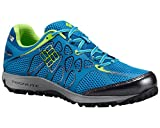 Columbia Men's Conspiracy Titanium Outdry Trail Outdoor Sneakers, Blue Mesh, 8 M