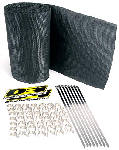 Design Engineering 010083 Speed Sleeves - Exhaust Heat Wrap Jackets, 8 Cylinder - - Shields Inch Heat 2.25