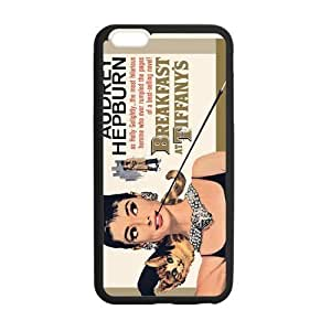 Audrey Hepburn Cell Phone Protector for iPhone 6(4.7) Plastic and TPU (Laser Technology)