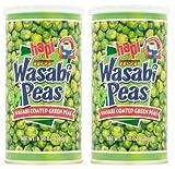 Hapi Snacks Wasabi Peas, Hot, 9.9 Oz (Pack of 2)