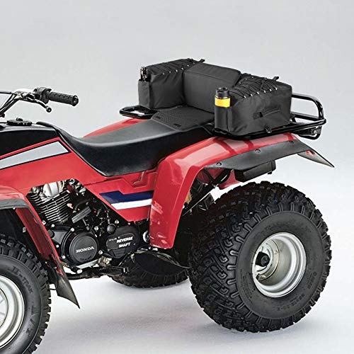 - ATV Rear Front Cargo Rack Bag Luggage Basket Storage Box Back Seat Bags