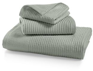 Martha Stewart Collection Quick Dry Reversible Towel Collection, 100% Cotton, Only at Macy's - Bath Towels - Bed & Bath - Macy's