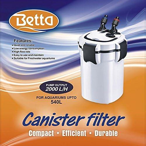 Betta 1050 Canister Filter Impeller /& Shaft