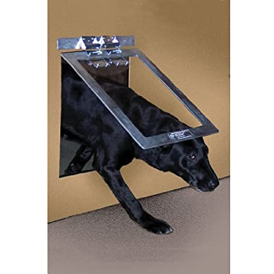 Gun Dog House Door | Chew Proof, Weather Tight, Energy Efficient | Metal Dog Door | Small, Medium and Large
