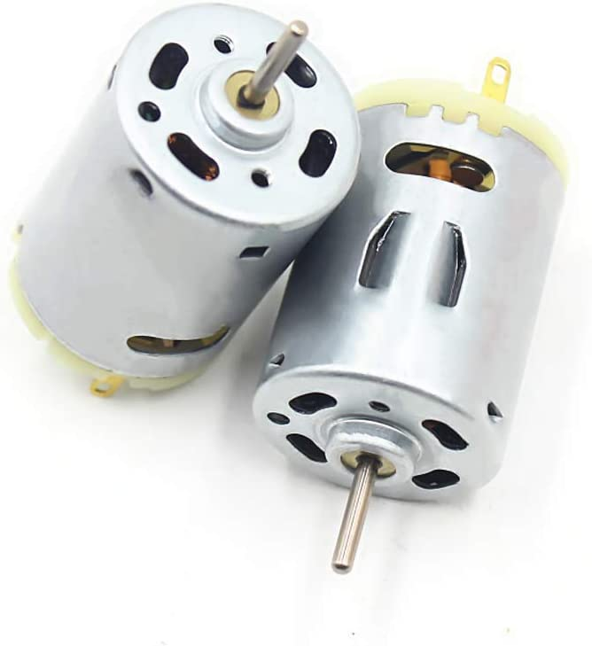 Gikfun DC 12V-24V 385 Micro Motor 8000RPM for Water Pumps Toy Cars DIY EK1579U Pack of 2