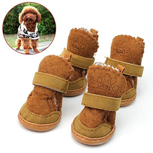 etopstech-4pcs-lovely-warm-adjustable-pet-dog-puppy-winter-cotton-anti-slip-snow-cozy-shoes-boots-br