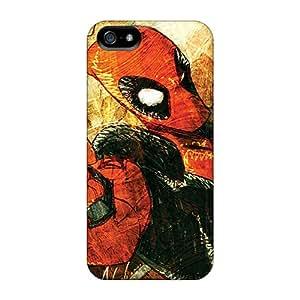 Iphone 5/5s Ptk13593HIDf Support Personal Customs Nice Deadpool I4 Skin Great Hard Phone Case -RitaSokul