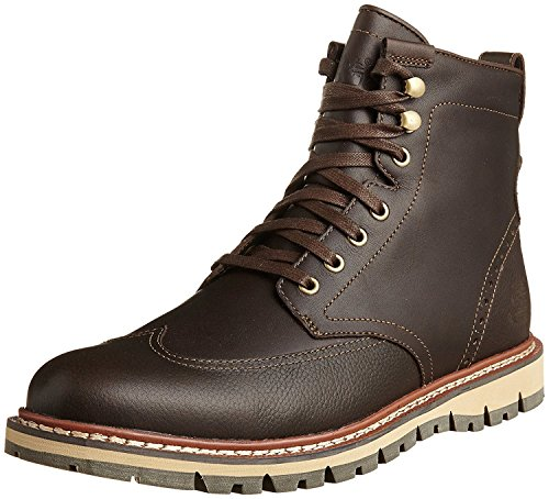 Timberland Mens Earthkeepers? Britton Hill Wing Tip Boot Waterproof, Marrone, 40 D(M) EU/6.5 D(M) UK
