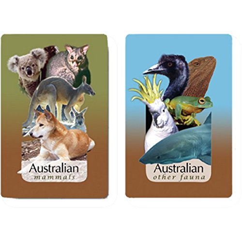 Finders Forum Playing Cards - Australian Wildlife Trivia