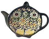 Polish Pottery Teabag Caddy Signature Roksana