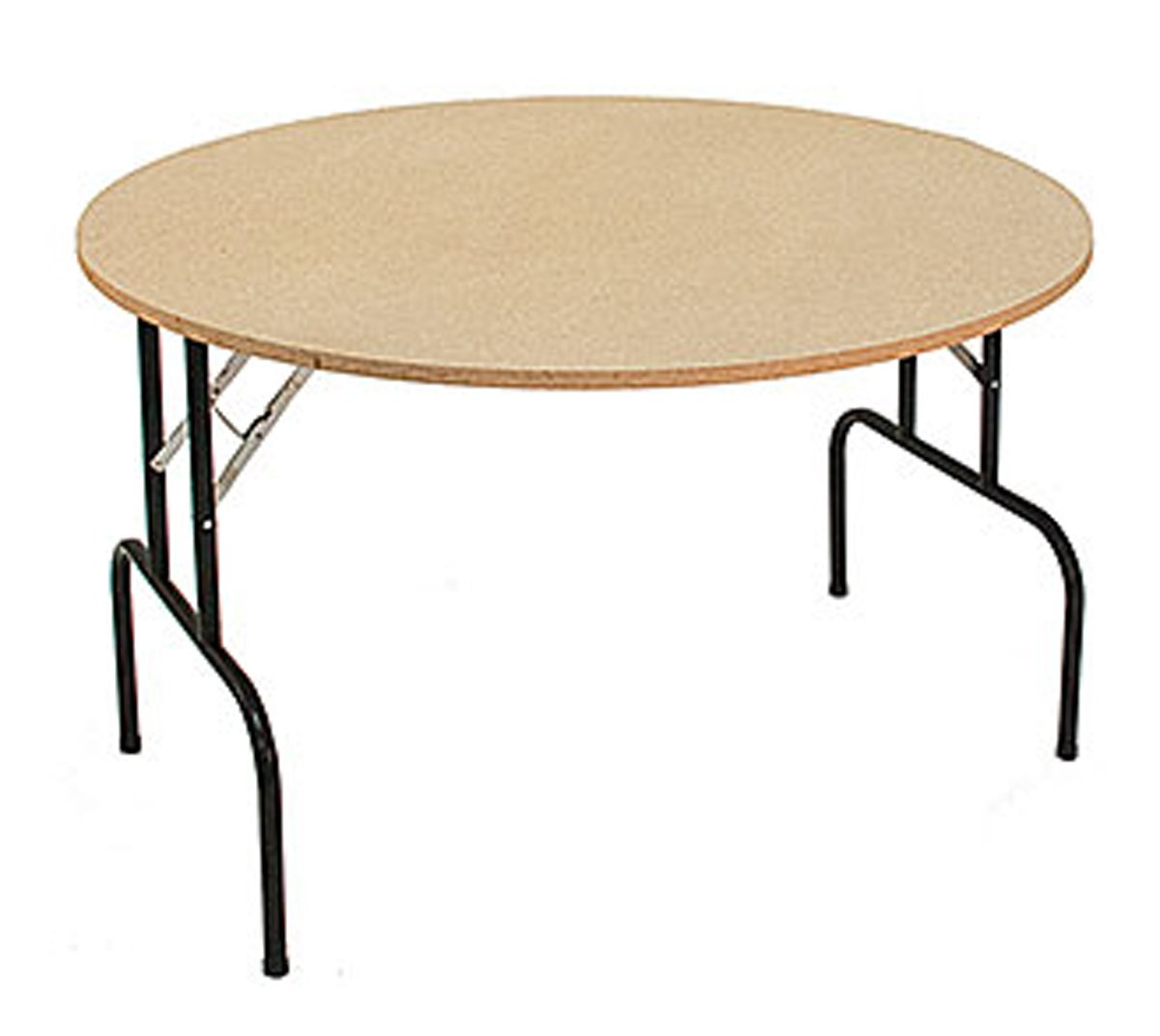 Round Folding Furniture Banquet Event Table Retail Display Store Fixture 48'' Lot of 2 New