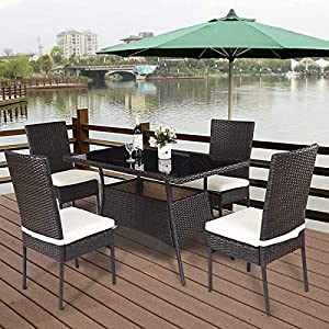 51w-C6KSVpL._SS300_ Wicker Dining Tables & Wicker Patio Dining Sets