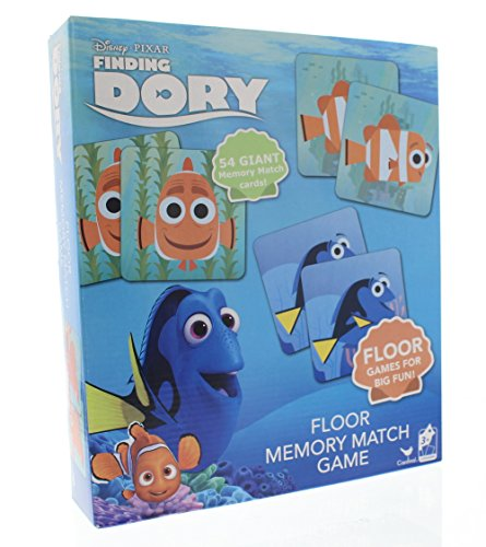 Disney Finding Dory Floor Memory Match Game - 54 Giant Memory Cards by Disney