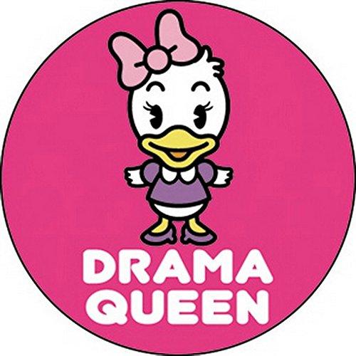 CD Visionary Disney Cuties Daisy Drama Queen Button B-DIS-0130