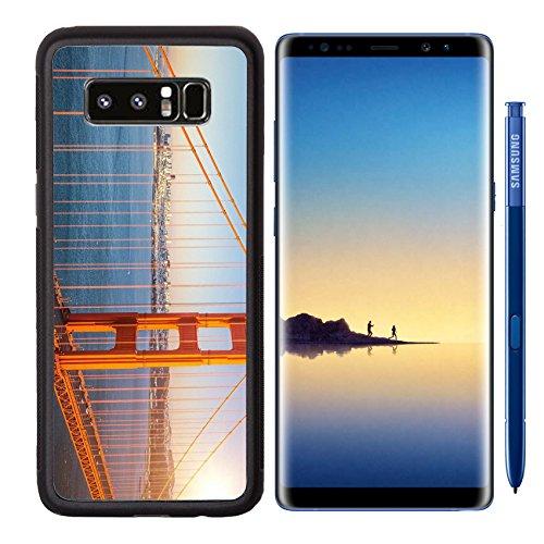 MSD Premium Samsung Galaxy Note8 Aluminum Backplate Bumper Snap Case IMAGE ID 33264717 Golden Gate Bridge