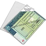 Dello 1540, Protetor Para Documentos, Cnh, Multicolor, pacote de 5