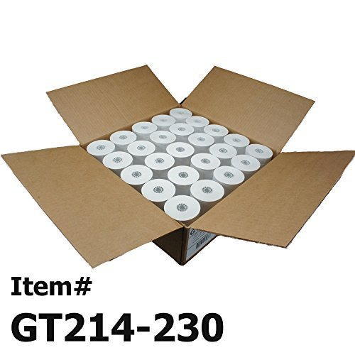 Gorilla Supply Thermal Paper Rolls 2-1/4 X 230ft 50/cs Cash Register