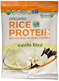 Growing Naturals Rice Powder Organic, Diary Free, 1.2 oz For Sale