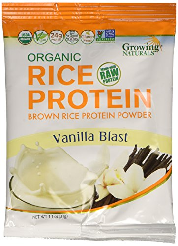 Growing Naturals Rice Powder Organic, Diary Free, 1.2 oz