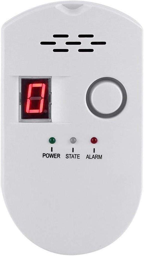 Natural Gas Detector, Gas Leak Detector, Household Propane Leak Detector, Propane Leak Detector, Natural Gas Leak Detector (White)