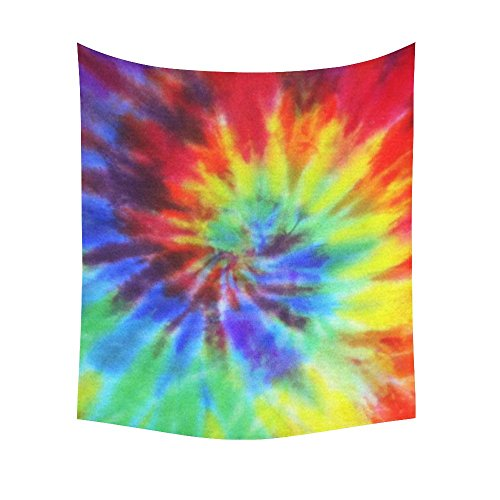 Interestprint Fabric Swirl Psychedelic Tie Dye Tapestry W...