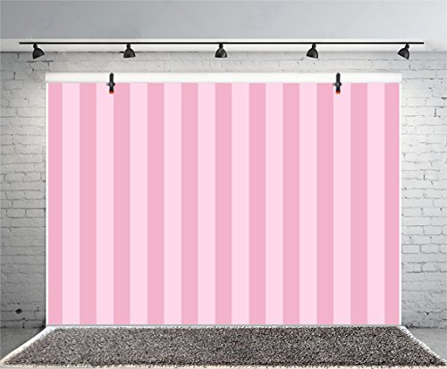 (Leyiyi 8x6ft Photography Background Striped Backdrop Happy Birthday Party Vertical Horizontal Stripes Icecream Girl Vlogger Summer Banquet Baby Shower Blog Make-up Photo Portrait Vinyl Studio Prop)