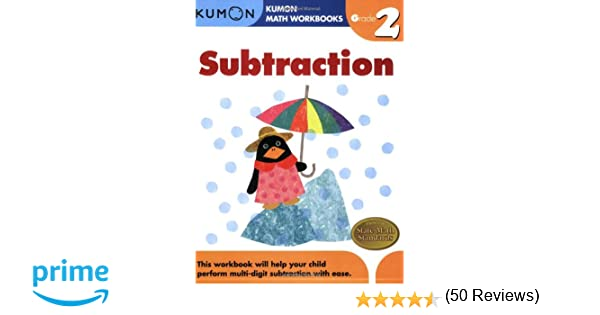 Grade 2 Subtraction (Kumon Math Workbooks): Kumon Publishing ...