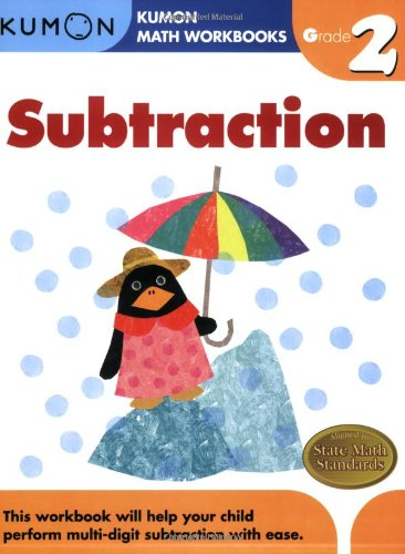 Workbook first grade worksheets pdf : Grade 2 Subtraction (Kumon Math Workbooks): Kumon Publishing ...