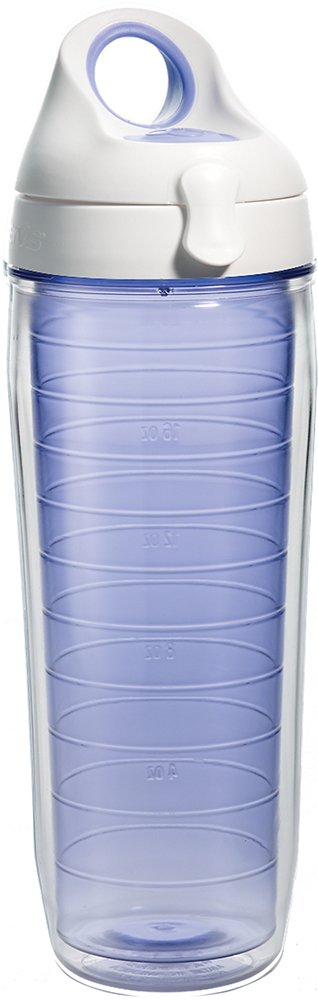 Tervis Lakeside Lavender Water Bottle with Lid, 24 oz, Clear by Tervis