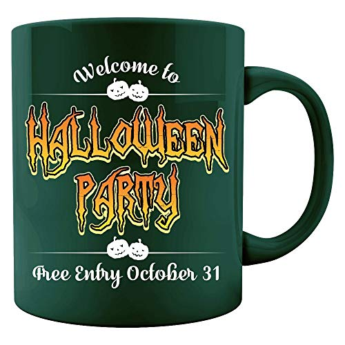 Welcome to halloween party free entry 31st Oct 2017 - Colored Mug