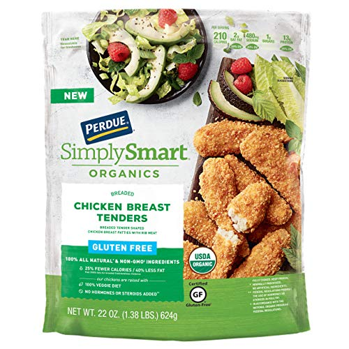 Perdue Simply Smart Organics Breaded Chicken Breast Tenders ...