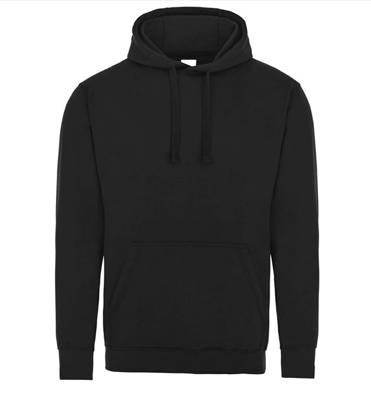 7b7cc17591f Famona Ltd Plain Black Pullover Unisex Hoodie Hooded Top Hoodie for Mens  and Womens Hooded Sweatshirt Available in XS to XXL
