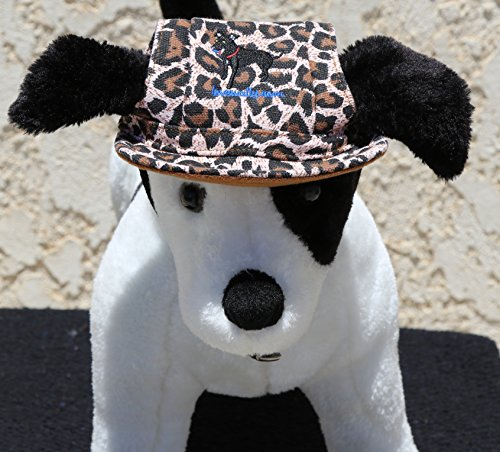 LoveWally Dog Outdoor PET Hat Leopard ♦ Adjustable Authentic (Large) by LoveWally (Image #2)