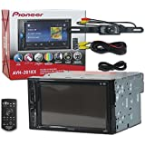 Pioneer Car audio Double Din 2DIN 6.2 Touchscreen DVD MP3 CD stereo built-in Bluetooth + Remote & DCO Waterproof Backup Camera with Nightvision