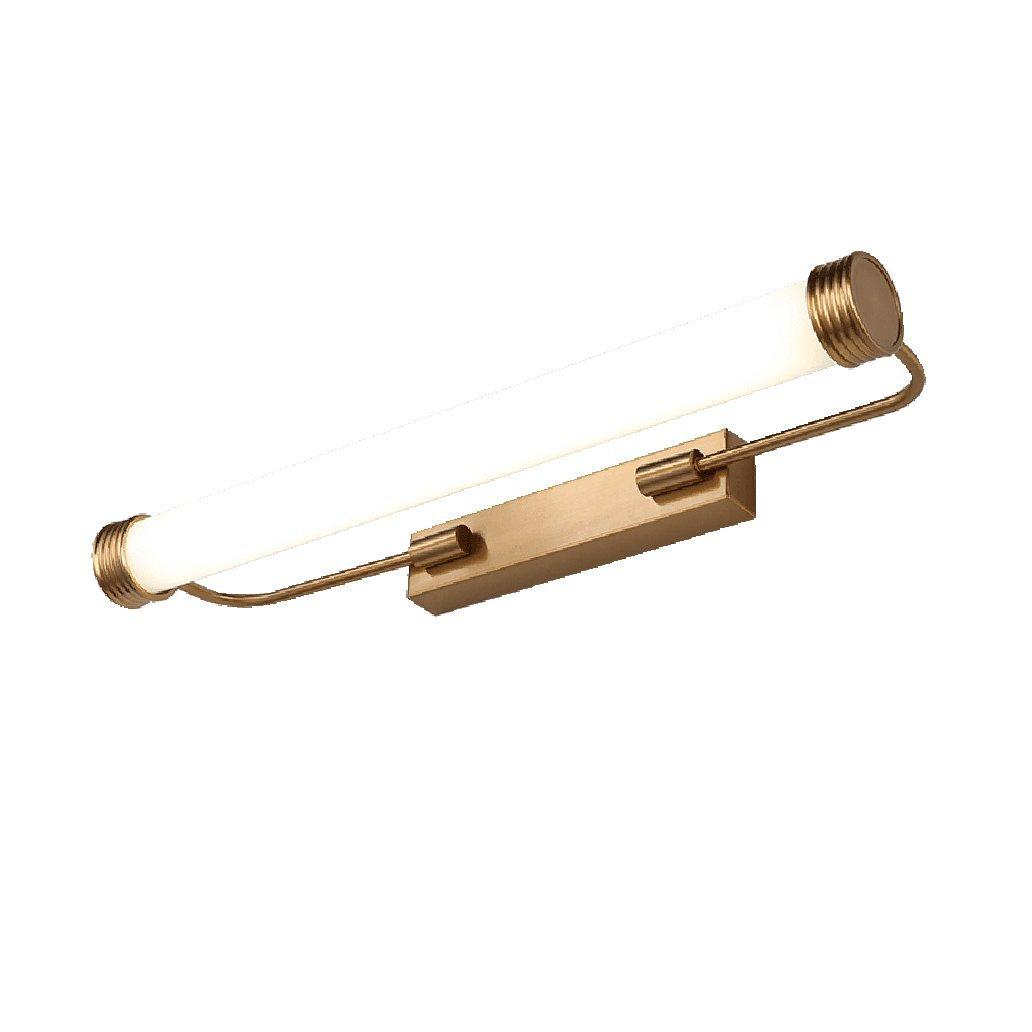 badezimmerlampe LED-Spiegel-vorderes helles Eitelkeit-Licht-Badezimmer-Lichter-Verfassung-Lichter-Spiegel-Kabinett-Lichter Retro- Bild-Scheinwerfer Schminklicht (Größe   40cm)