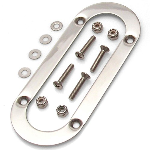 American Shifter 54583 Oval Emergency Brake Trim Ring with Hardware