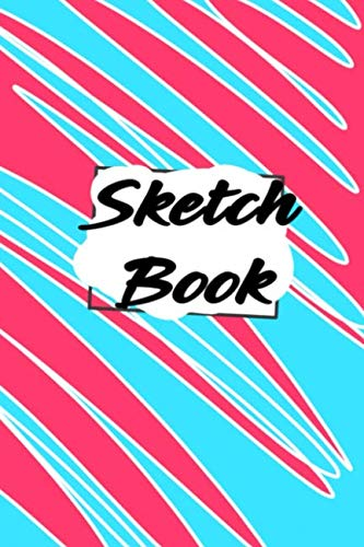 Sketch Book: Blank Sheets of Paper With Red Heart for Creativity and Drawing Everything Cool.