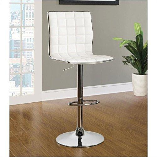 Coaster Home Furnishings Contemporary Adjustable Bar Stool,