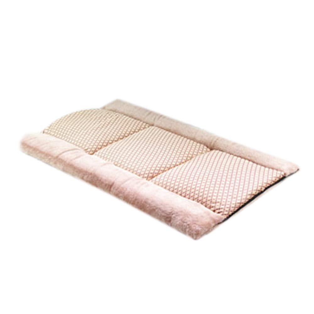 vmree 2-in-1 Pet Cat Dog Tunnel Bed Tent Soft Plush Cushion Mat Pad for Puppy Kitten Crate House