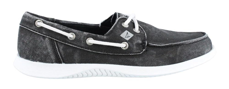 Men's Sperry, Defender 2 Eye Boat Shoe BLACK 10 M hot sale