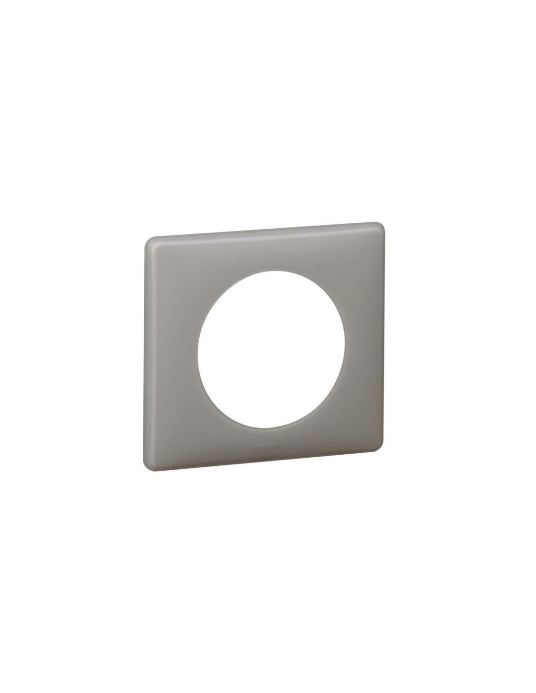 plaque legrand c/éliane 1 poste gr/ès