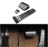 Automotive : etopmia BEZ No Drill Fuel Brake Foot Pedals For Mercedes Benz C/E/S/GLK/SLK/CLS/Sl Class Silver (1 Pack)