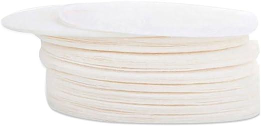 LONGLISHENG 350 piezas de papel de filtro de café redondo para uso ...